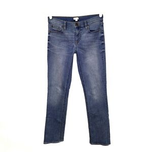 J.Crew factory stretch straight cut jeans